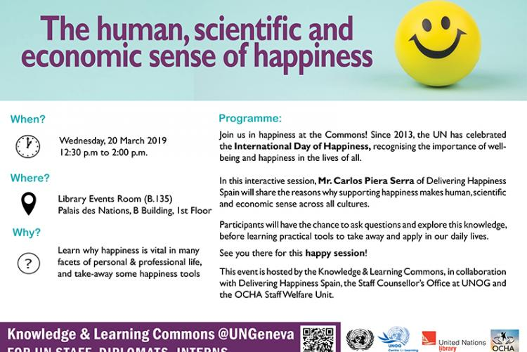 Invitation International Day of Happiness